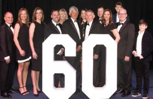 The Jeavons family celebrate six decades in business.