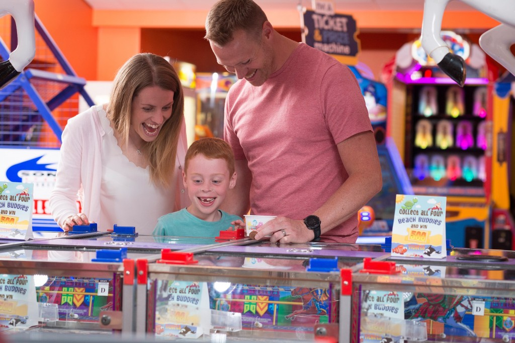 Amusement arcades offer fun for all the family