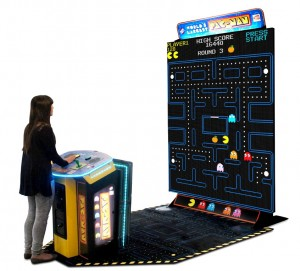 World's Largest PAC-MAN, boasting a whopping 108-inch screen, was a best-seller for BNAE in 2017.