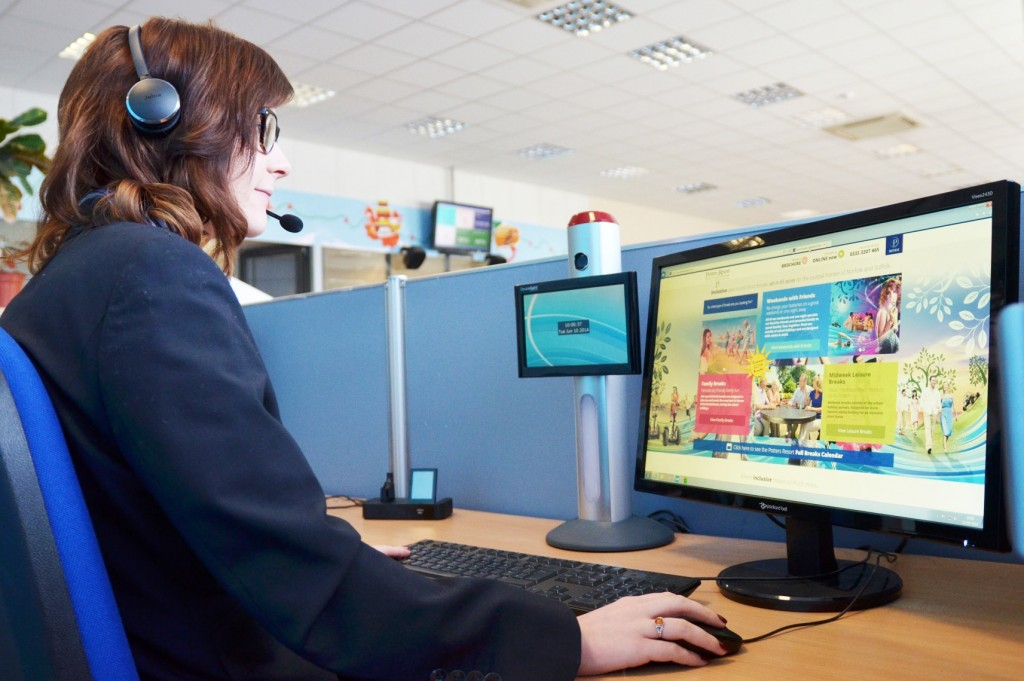 Examine your browse to booking system and remove any barriers. Pic. Potters Resort.