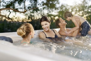 Hot tubs are a highly profitable addition to a holiday letting. Pic: Caldera Spas.
