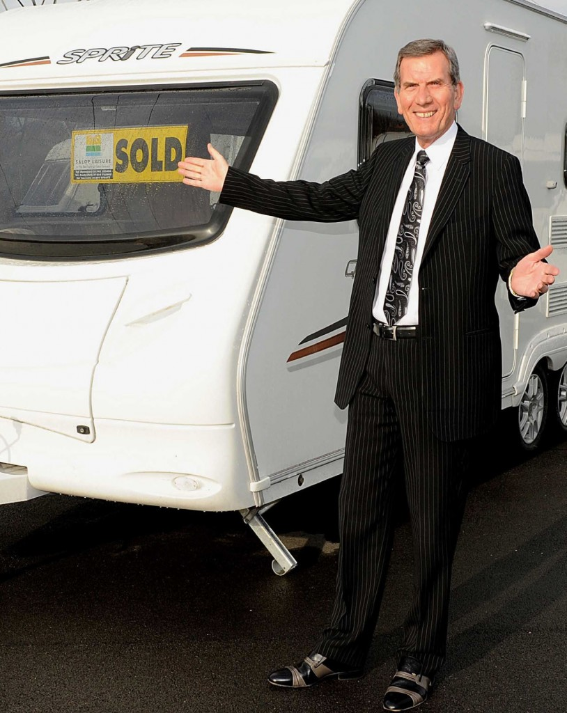 Salop Leisure chairman Tony Bywater predicts a big year from caravan and motorhome sales.