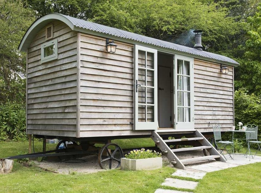 Visitors can escape to an idyllic glamping retreat in a secluded beachy area of Cornwall courtesy of Melody Farm.