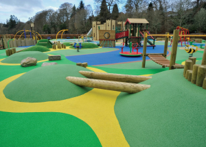 Wicksteed Playgrounds was recently commissioned to create an impressive and imaginative playpark at Wilton Lodge Park in Hawick.