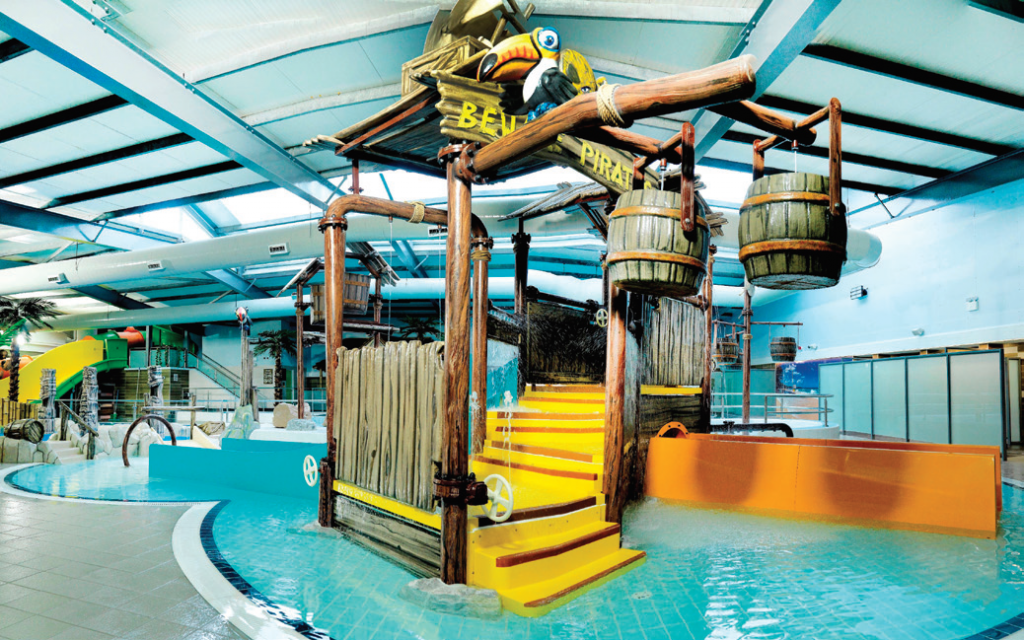 The overhaul of the swimming pool facilities at Ribby Hall Village was carried out by World Leisure.