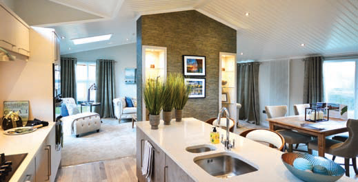 Haytop Country Park will feature a number of luxury lodge homes.