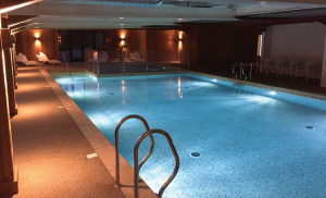 Last year saw the opening of Coast View's new heated indoor swimming pool, complete with a toddler pool.