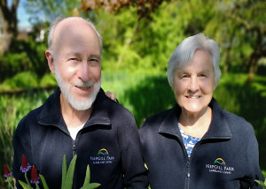 ABOVE: Nepgill's owners, Kevin & Marcia Morgan, bought the pakr in 1987.