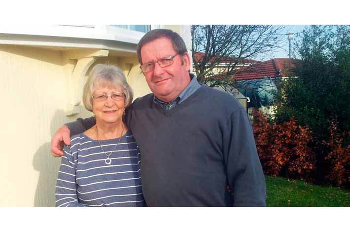 Peace of mind from the certainty gained was the main benefit of part exchange for Yvonne and Bill King, who are now happily enjoying their new lifestyle.