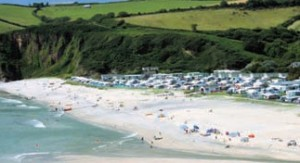 Pentewan Sands Holiday Park recently gained a five-star Quality in Tourism award.