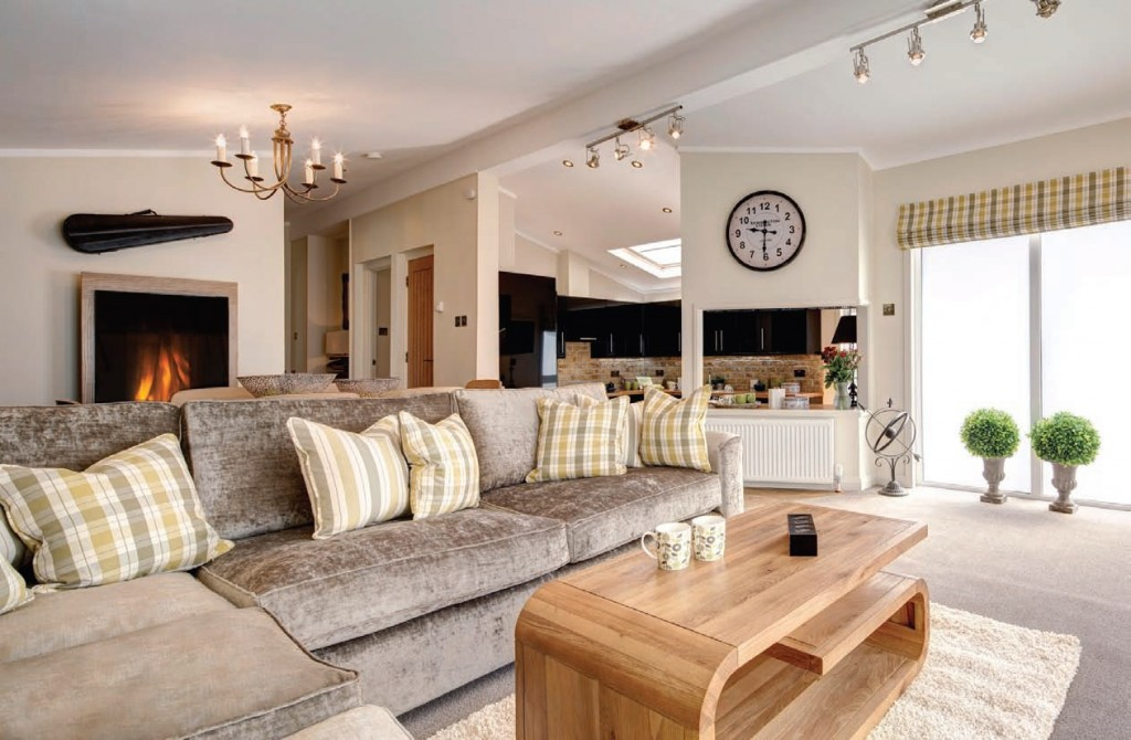 Pathfinder's clients can select everything from the size, the layout, the external finishing and the internal furnishings of the lodge.