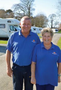Gary and Tania Smith have been promoted to managers of Stanmore Hall Touring Park in Shropshire.