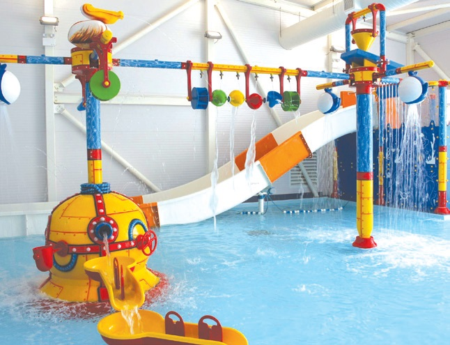 Waterplay Centrepeice