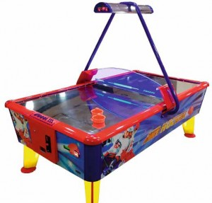 Air hockey tables remain a favourite among gamers of all ages.