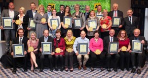 All the 2015 AA Caravan and Camping Awards winners were recognised for their achievements at the lunch held at the Aztec Hotel in Bristol.