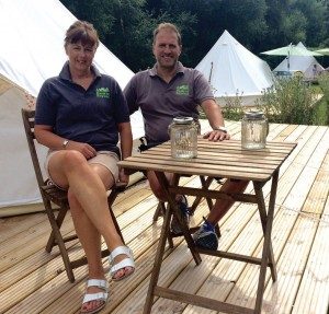 Back of Beyond park owners Martin and Vicky Bowrey have been praised for their outstanding conservation