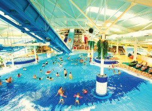 Holiday park operator Butlin's says that their swimming pools, like the one at Butlins Minehead, are the second main reason that guests return each year.