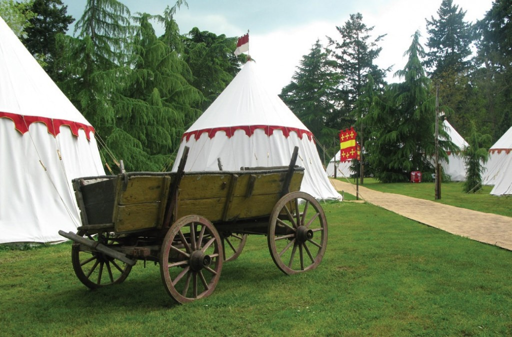 The deep aeriation technique was recently used in the glamping area within the grounds of Warwick Castle