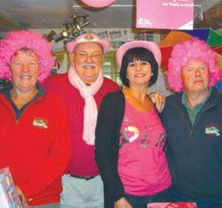 The Dornafield team has supported Breast Cancer Campaign's 'Wear It Pink' day for the last seven years, which has raised over £1,500.