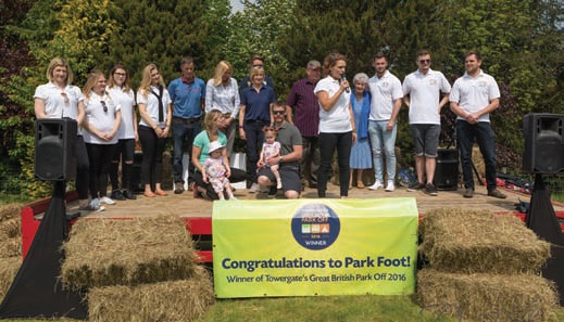 Park Foot was named the winner of Towergate's Great British Park Off 2016.