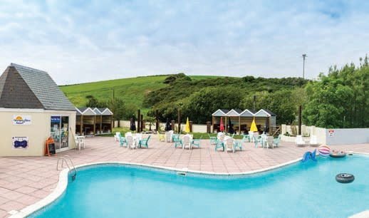 The park boasts an indoor and an outdoor pool, which are popular hotspots for holidaymakers