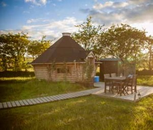 Bespoke yurts from Hearthworks can be customised to suit specific size and layout requirements and optional extras such as wood burning stoves can be included.