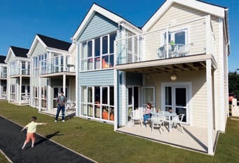 Deck Houses have been introduced at Haven's Caister-on-Sea Holiday Park in Norfolk.