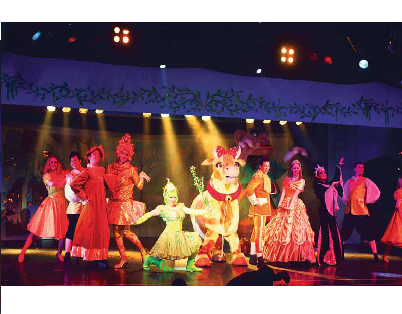 Butlins holiday resorts have always been known for their entertainment including seasonal pantomime performances.