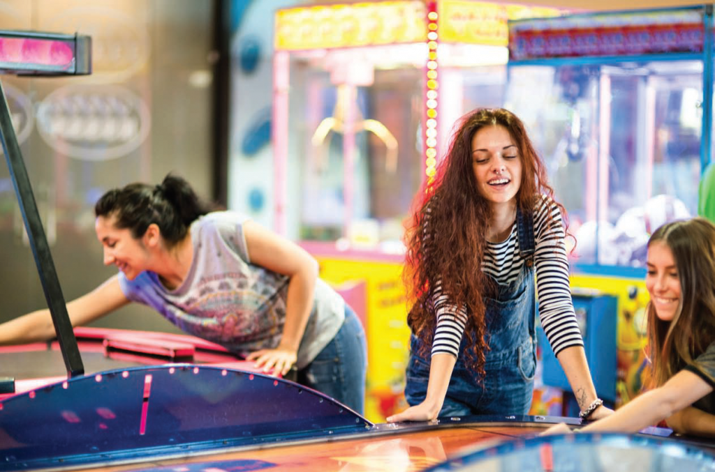Arcades have long been and are still very much part of the seaside family holiday.