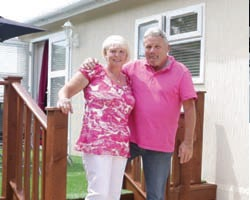 Mr & Mrs Davies benefitted from Quick Move Properties' part exchange service when purchasing their park home.