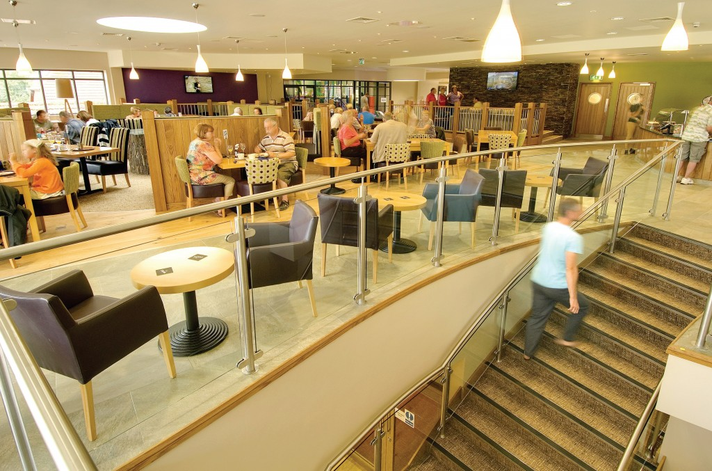 When Cofton Country Holidays in South Devon embarked on a major redevelopment of the leisure facilities on site, a key aim was to improve the restaurant and bar areas. Pic: Fruition Creative Services.