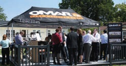 Omar Park Homes celebrated its 50th year in business with a cake cutting ceremony and drinks reception.