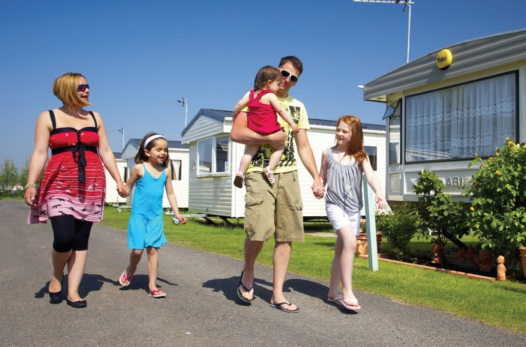 Park Holidays UK says that sales of holiday caravans and lodges to British families were up by over 40% on last year's figures at the start of July.