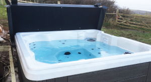 touch of hot tub luxury