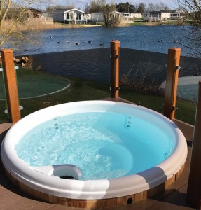 Away Resorts approached Urban Cedar at a recent Holiday Park & Resort Innovation show as they were interested in its contemporary hot tubs for use at their parks around the UK.Not only did they like the look of the Urban Cedar hot tubs but they also wanted a hot tub which was more commercial and designed specifically for a holiday home use as Urban Cedar's are.They had experienced problems in the past with other hot tubs which allowed the guests to change the temperature and filter settings.Urban Cedar had a meeting with Away resorts and created a tailored solution to their exact requirements. This included chlorine auto-dosing, tamper proof jets and fitting a dual control system so the guest can only operate the jets and led lights. Away Resorts subsequently placed an order for over 40 hot tubs for three of their developments which were delivered and installed by April 2016. We have continued to work closely with Away resorts and are currently looking at design ideas for 2018. *Urban Cedar Hot Tubs www.urbancedarhottubs.co.uk*