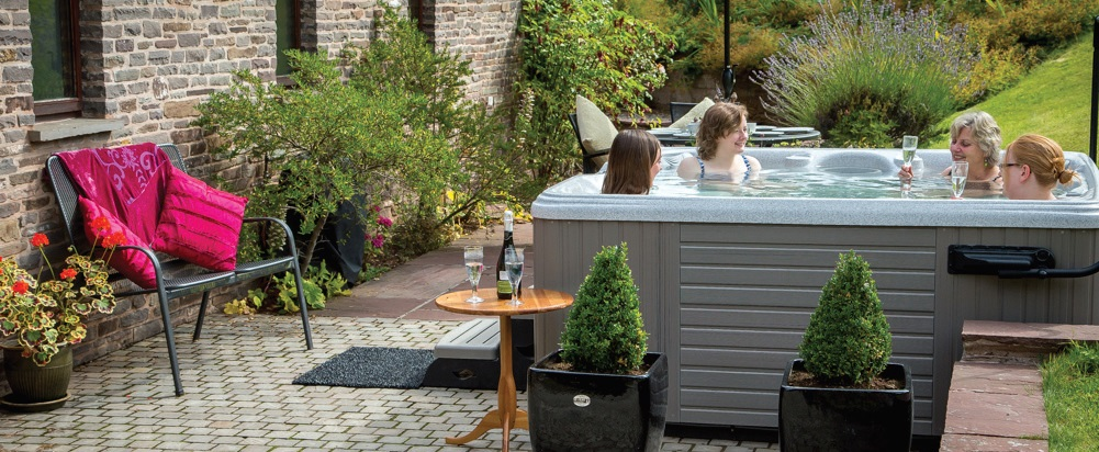 Customers are always looking for an added value when they make their booking and hot tubs fit the bill perfectly and have broad appeal. Pic: Caldera Spas.