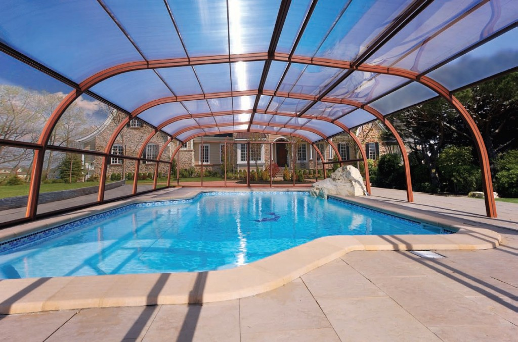 Rolal holiday park scene for Commercial swimming pool