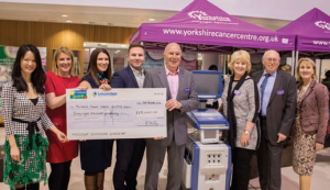 he Yorkshire Cancer Centre Appeal was thrilled with the generous donation from the Wilby family, which meant they reached their £160,000 target.